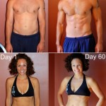 Jason's and Katee's Insanity Results