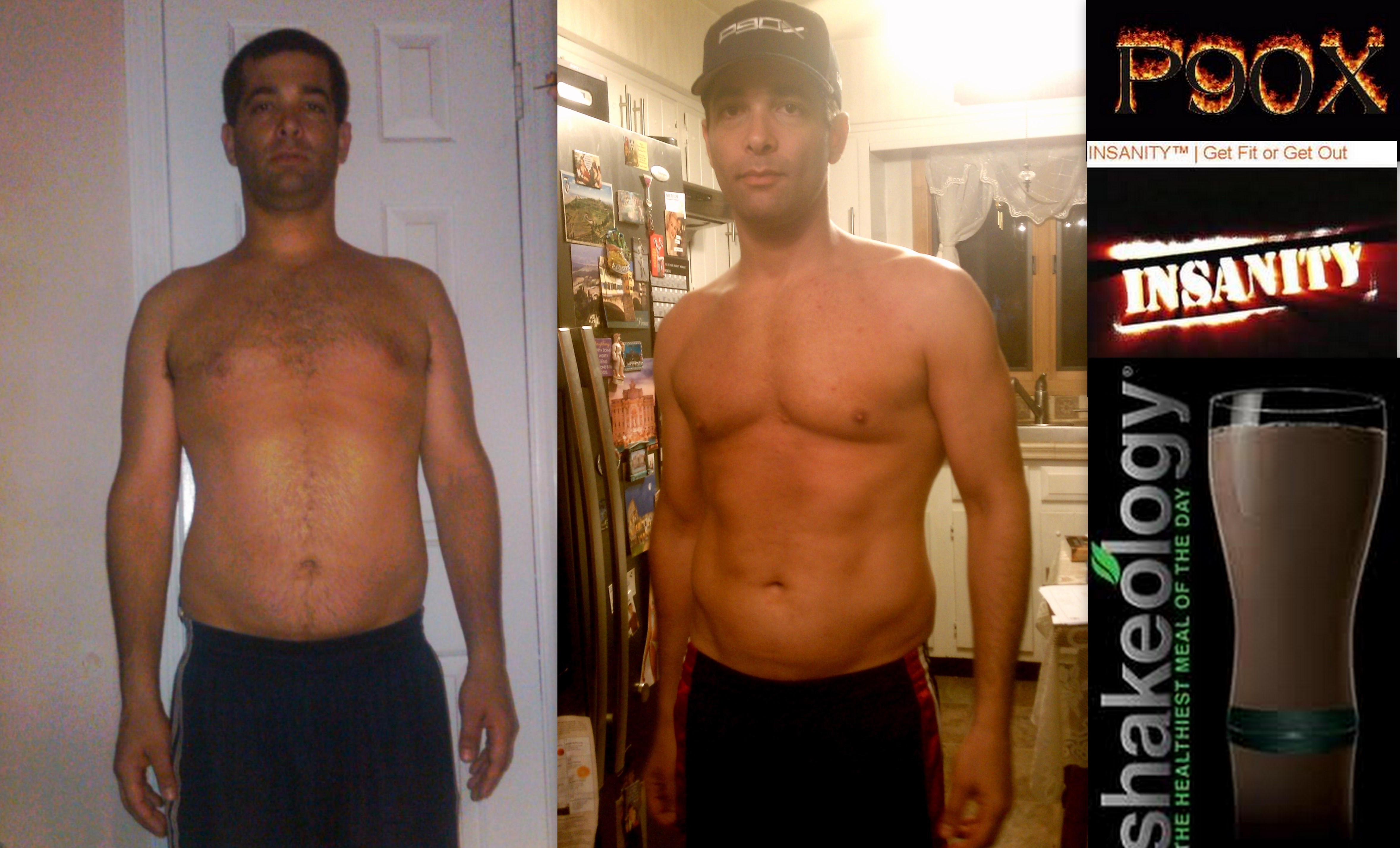 Jonathan S P90x Insanity Results