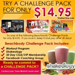 FREE Trial Offer – Beachbody Challenge Packs