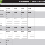 Download Body Beast Worksheets