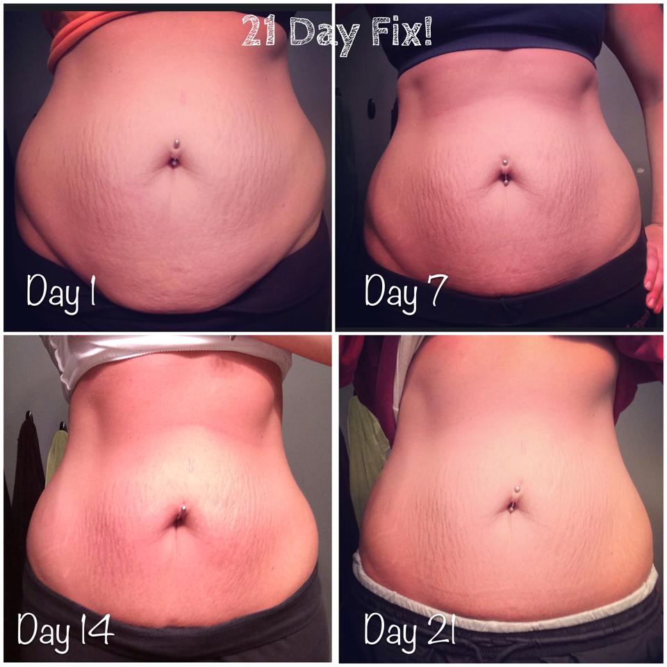 kat 21 day fix modifier before and after