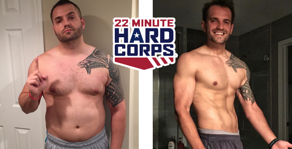 22 minute hard corps transformations